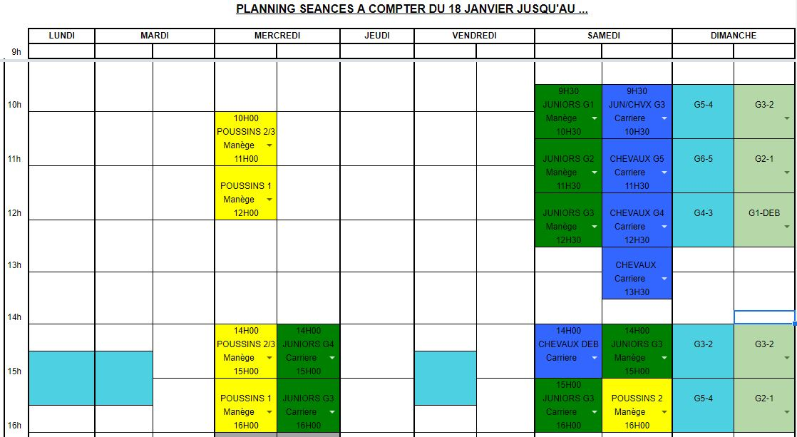 PLANNING COUVRE FEU 1